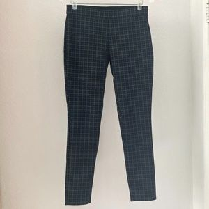 Max Edition Stretch Plaid Pencil Cropped Pants S